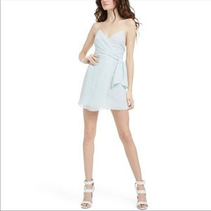 NWT Alice + Olivia Katie Silk Blend Dress Size 10